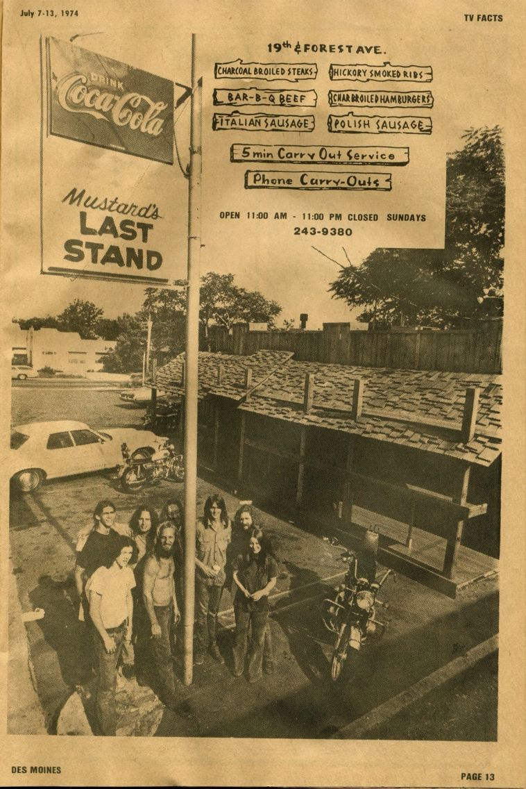 Original Mustard S Restaurant In Des Moines Ia Ottumwa Iowa