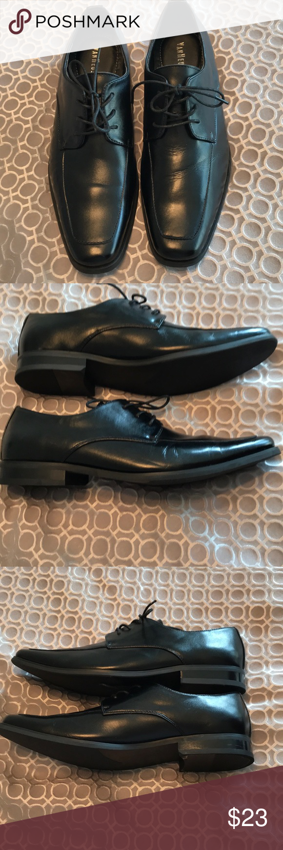 Menus leather dress shoes size in my posh picks