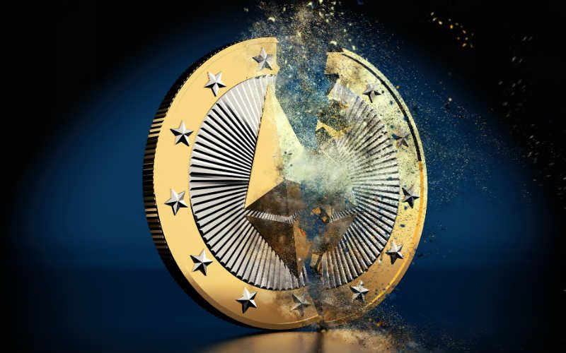 Ethereum falls to its lowest price for 16 months and