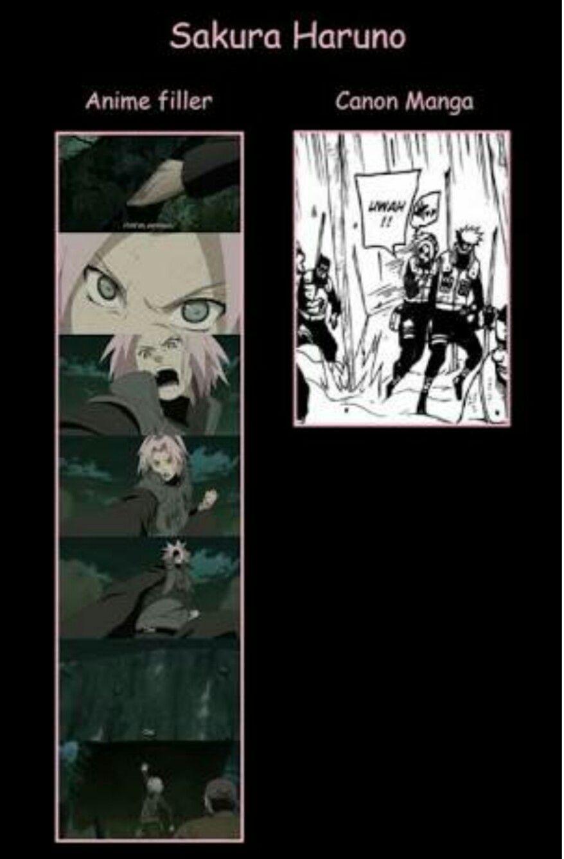 Fillers Are Really Sakura S Strength The Truth Anime Naruto