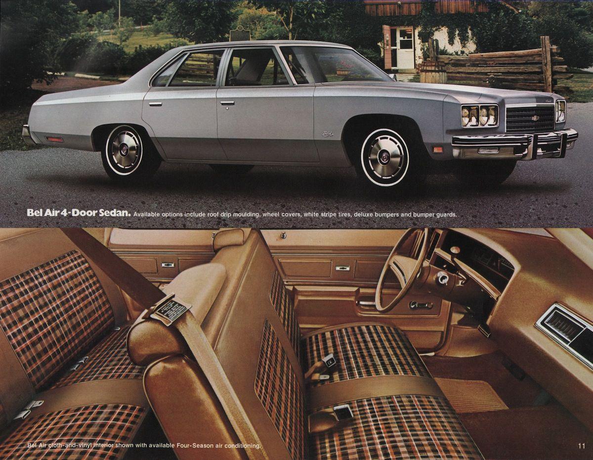 Gm 1976 Chevrolet Sales Brochure Chevrolet Caprice Classic Chevy Caprice Classic