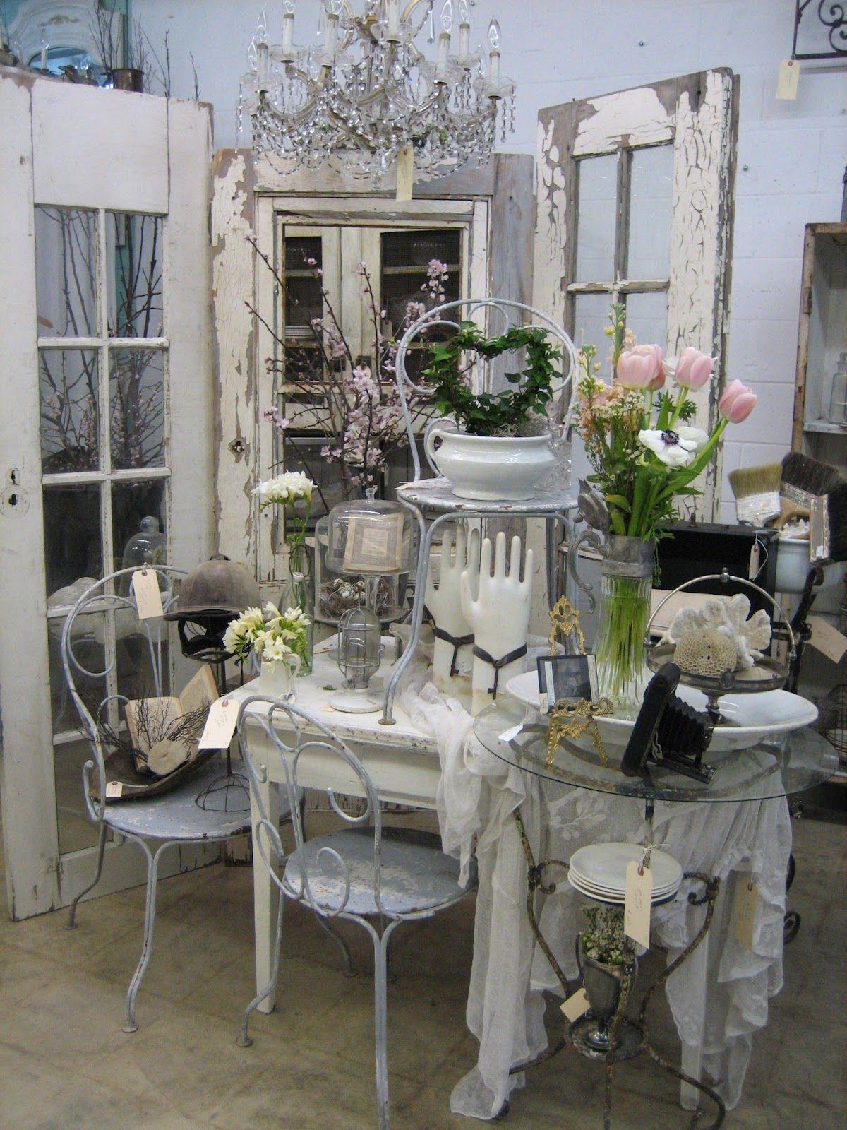 Pin by mary ellen glidden on booth inspiration pinterest shabby m bel dekoration and shabby - Deko wintergarten ...