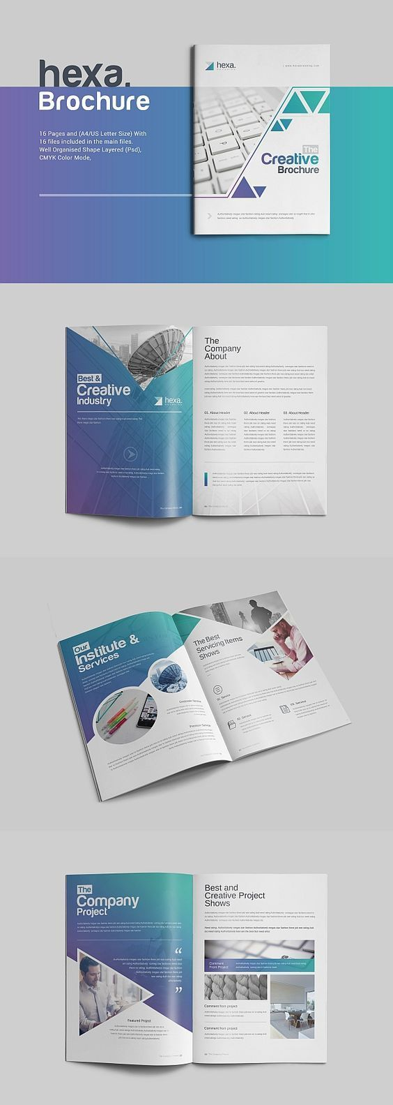 2239+ Brochure Templates for Free Download Online Square ...