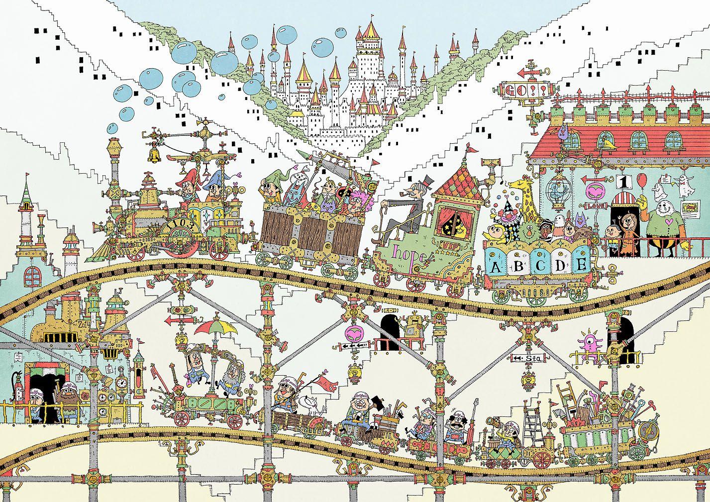 いらすと おしゃれまとめの人気アイデア pinterest しめじ 遊園地 イラスト 遊園地 空想画
