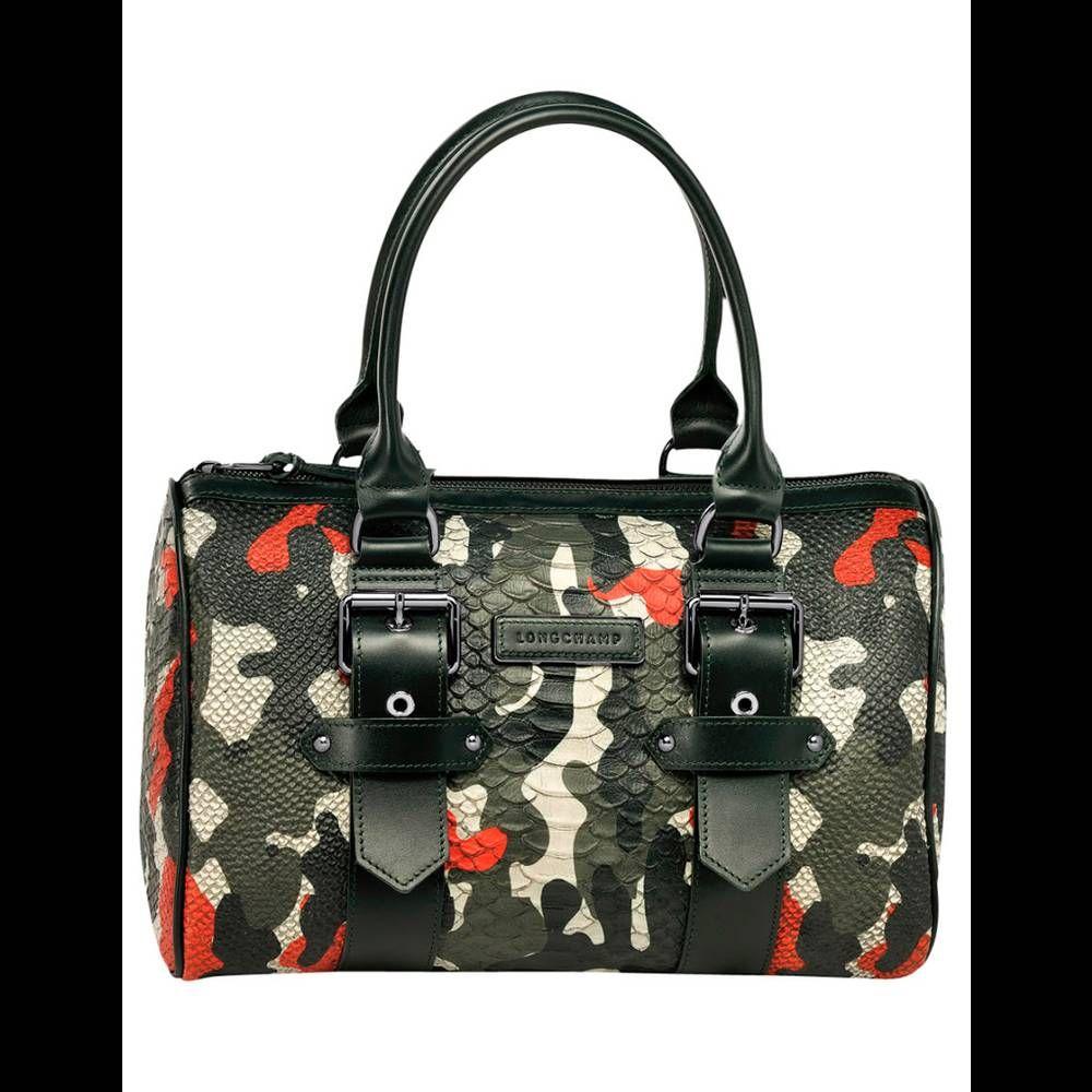 Sac en cuir Longchamp, Kate Moss for Longchamp