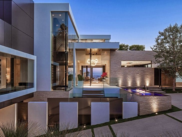 1201 laurel way cliff view luxurious modern mansions in beverly california read more at