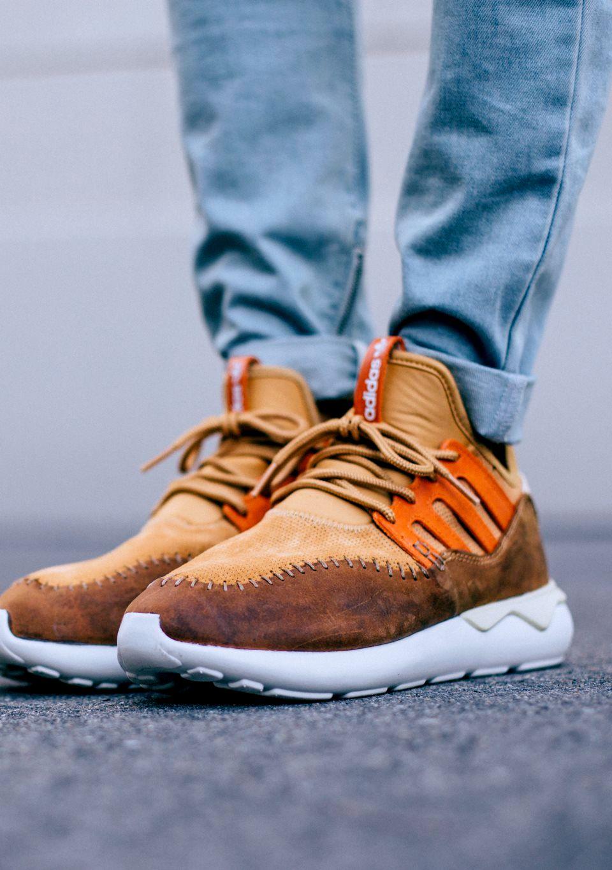 Adidas Tubular Moc On Feet