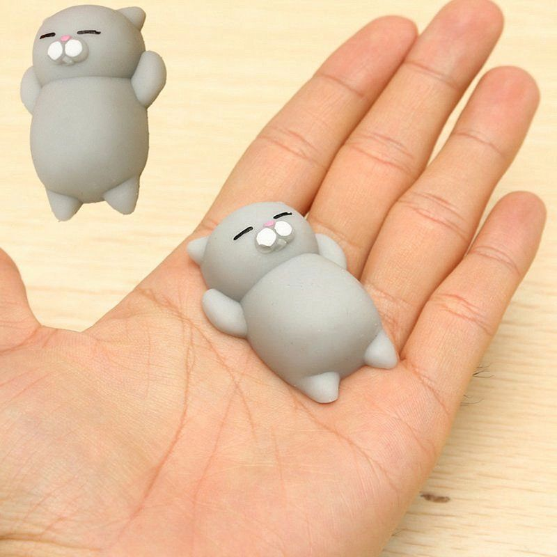 Mobile Phone Straps Kawaii Japan Mochi Animal Lazy Cat Mini Decompress Squishy Squeeze Soft Slow Rising Funny Kids Children Toys Gift Phone Strap
