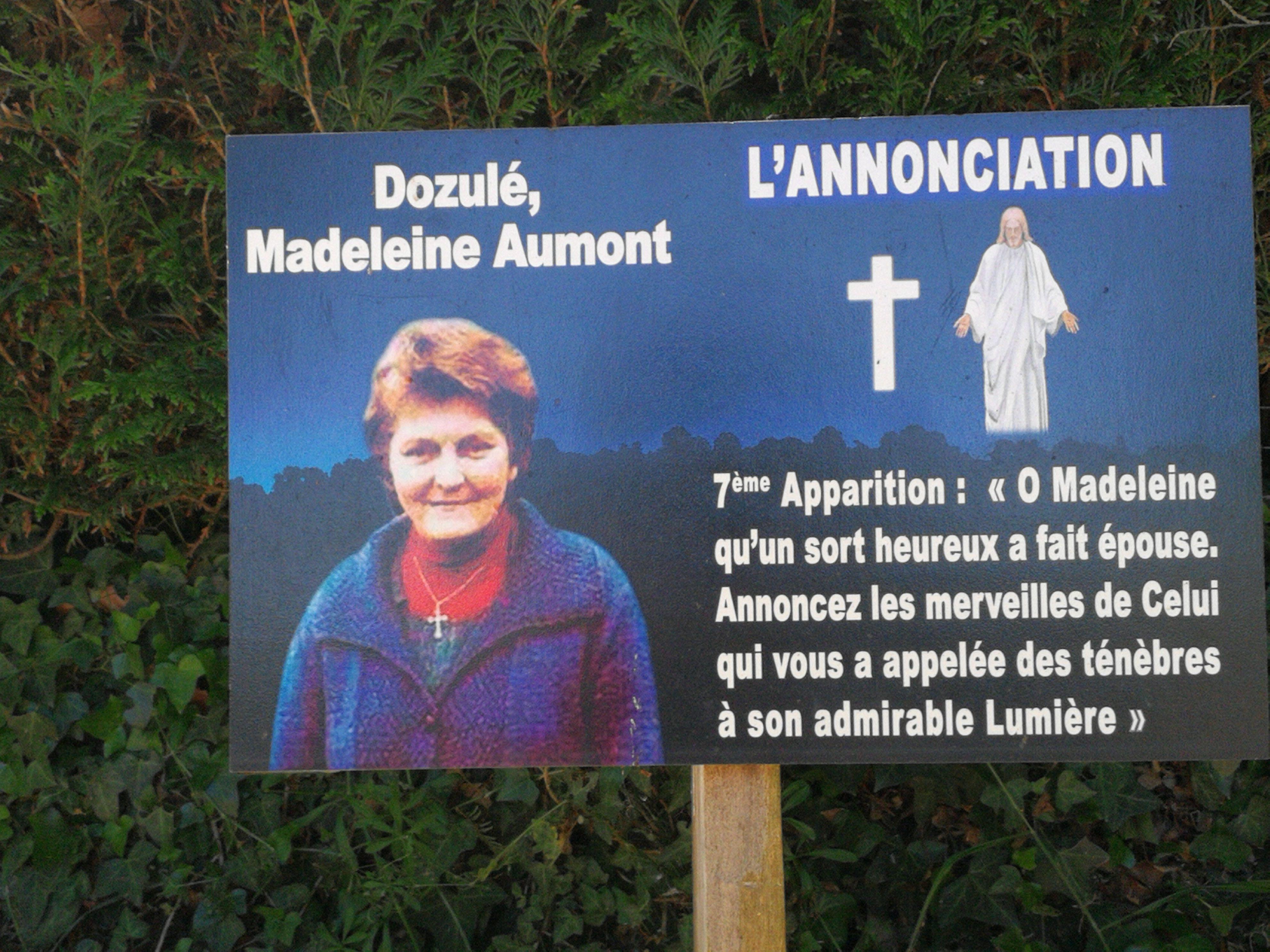 Dozulé - Madeleine Aumont 1924-2016