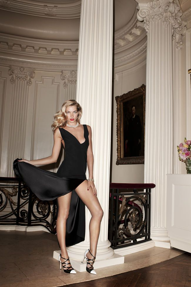 Can I have her shoes please? (Pour La Victoire Holiday/Resort 2012 Campaign)