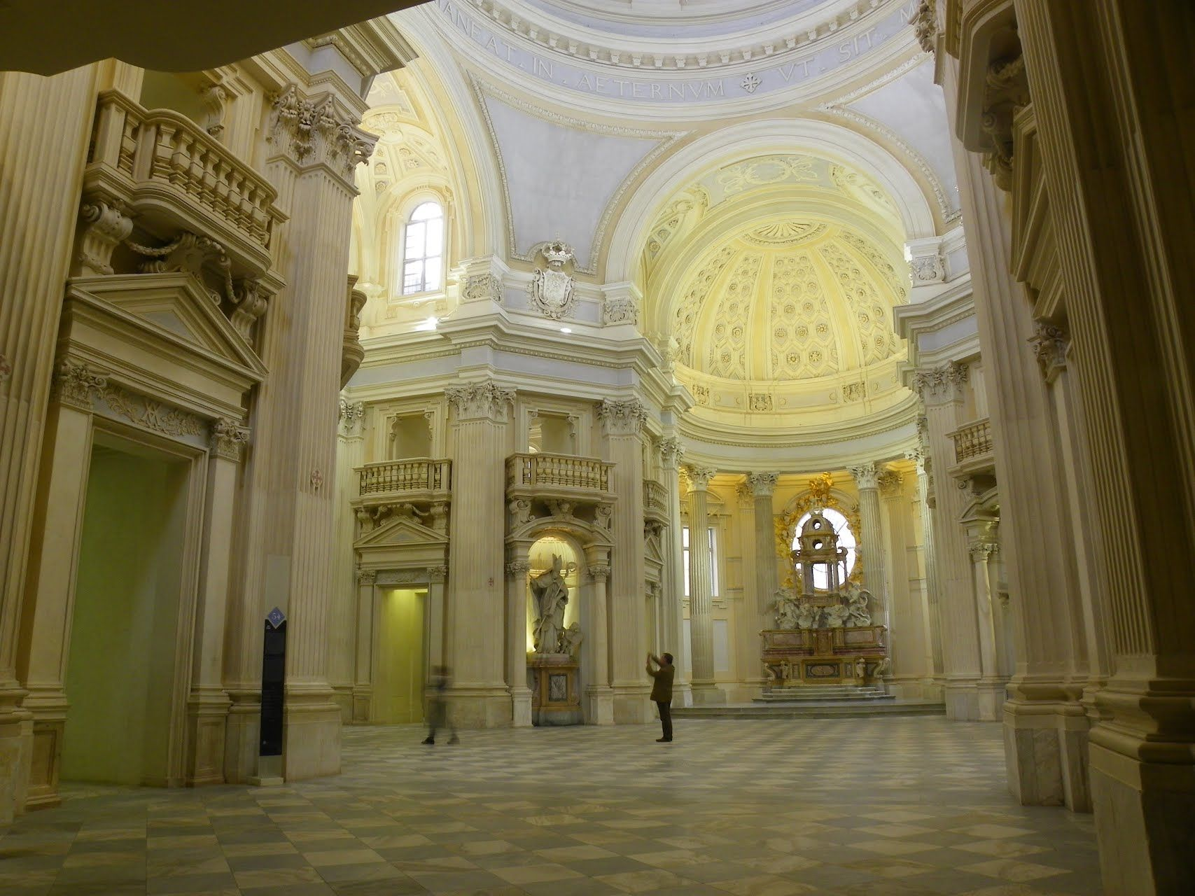 Reggia di Venaria Reale, Chiesa