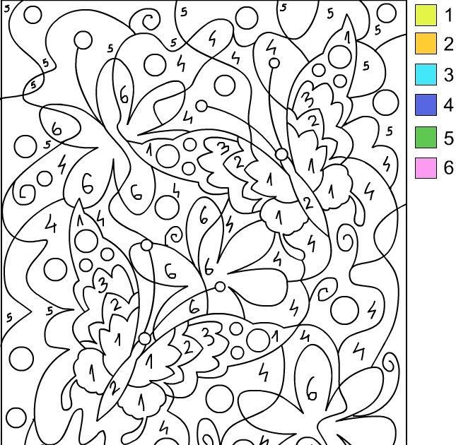 Pin von sue ann auf color by number | Pinterest | Malbücher