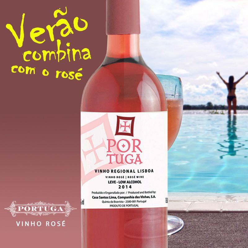 Vinhoportuga Portuga Rose Low Alcohol Sabor E Frescor