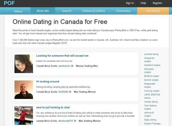 Best online dating sites canada