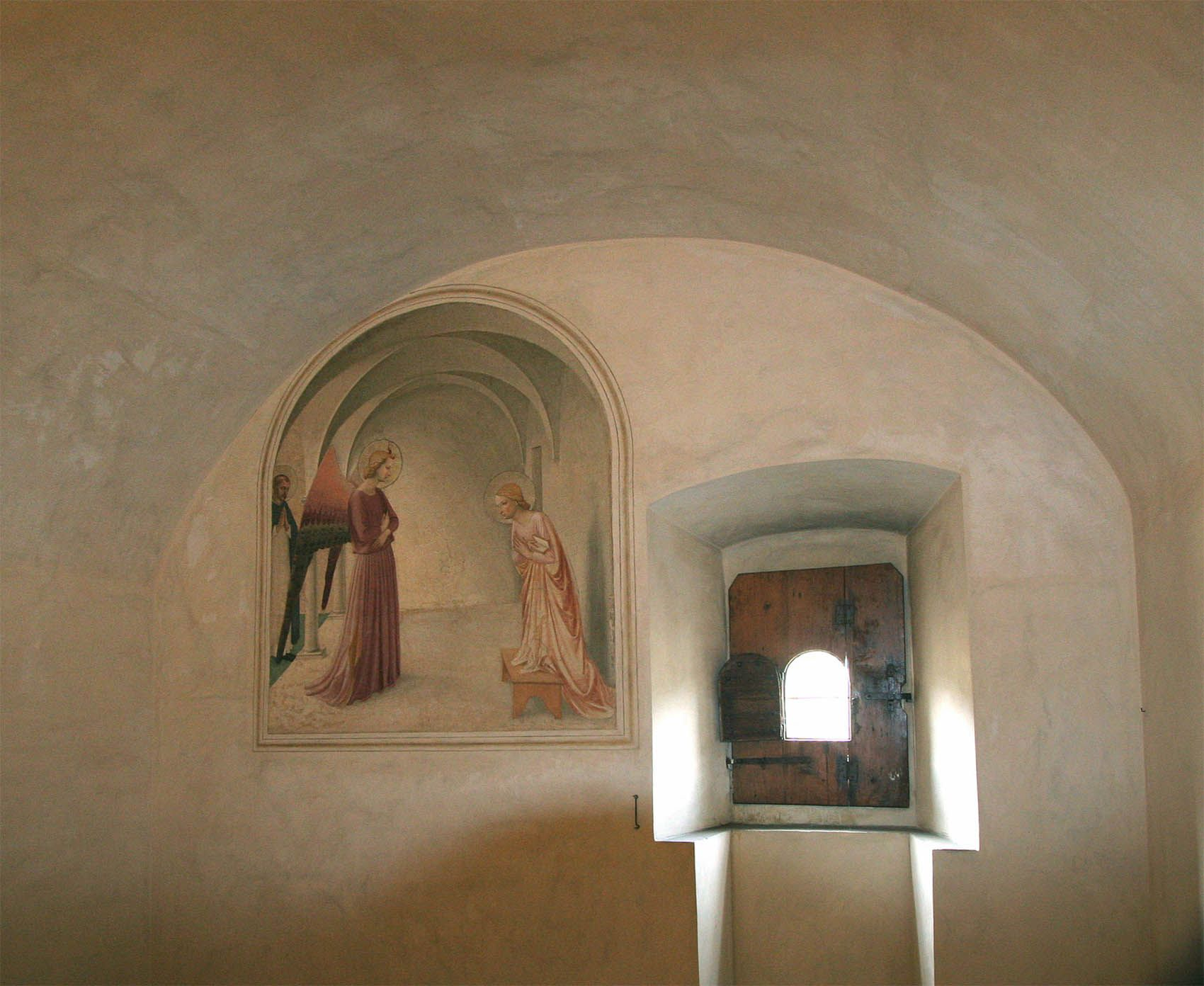 fra angelico fresco at san marco / photo: jason micheli | Italia ...
