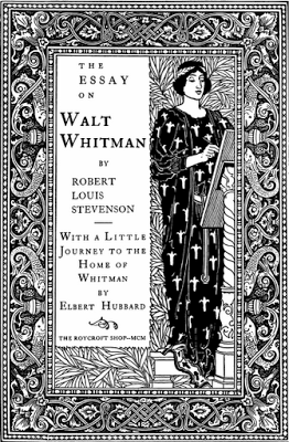 Roycroft Louis Rhead Title Page For The Essay On Walt Whitman   Roycroft Louis Rhead Title Page For The Essay On Walt Whitman  The  Roycroft Press Commissioned This Design From A Prominent Graphic Designer English Essay Pmr also Online Tutoring Help  Essay On Science And Religion