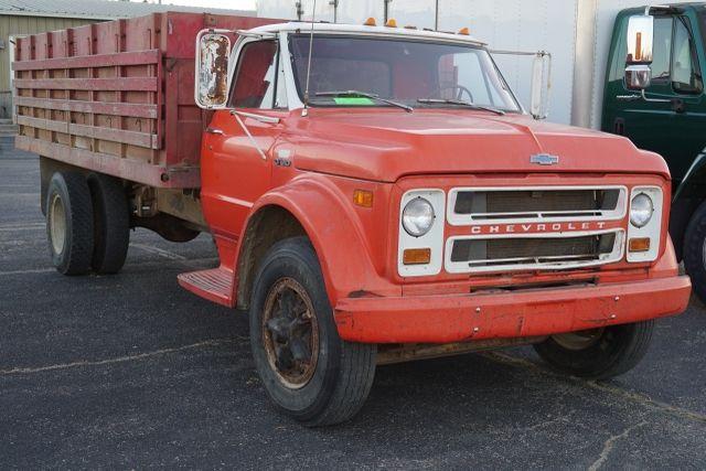 1972 Chevy Grain Truck, 16ft Steel Bed | Chevyc50 | Trucks