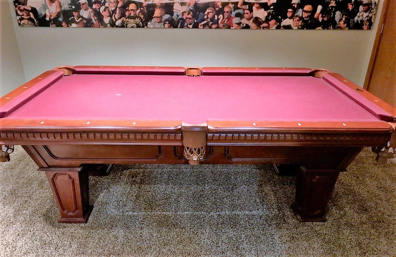 Cannon Billiards Pool Table 7 Great Condition Billiard