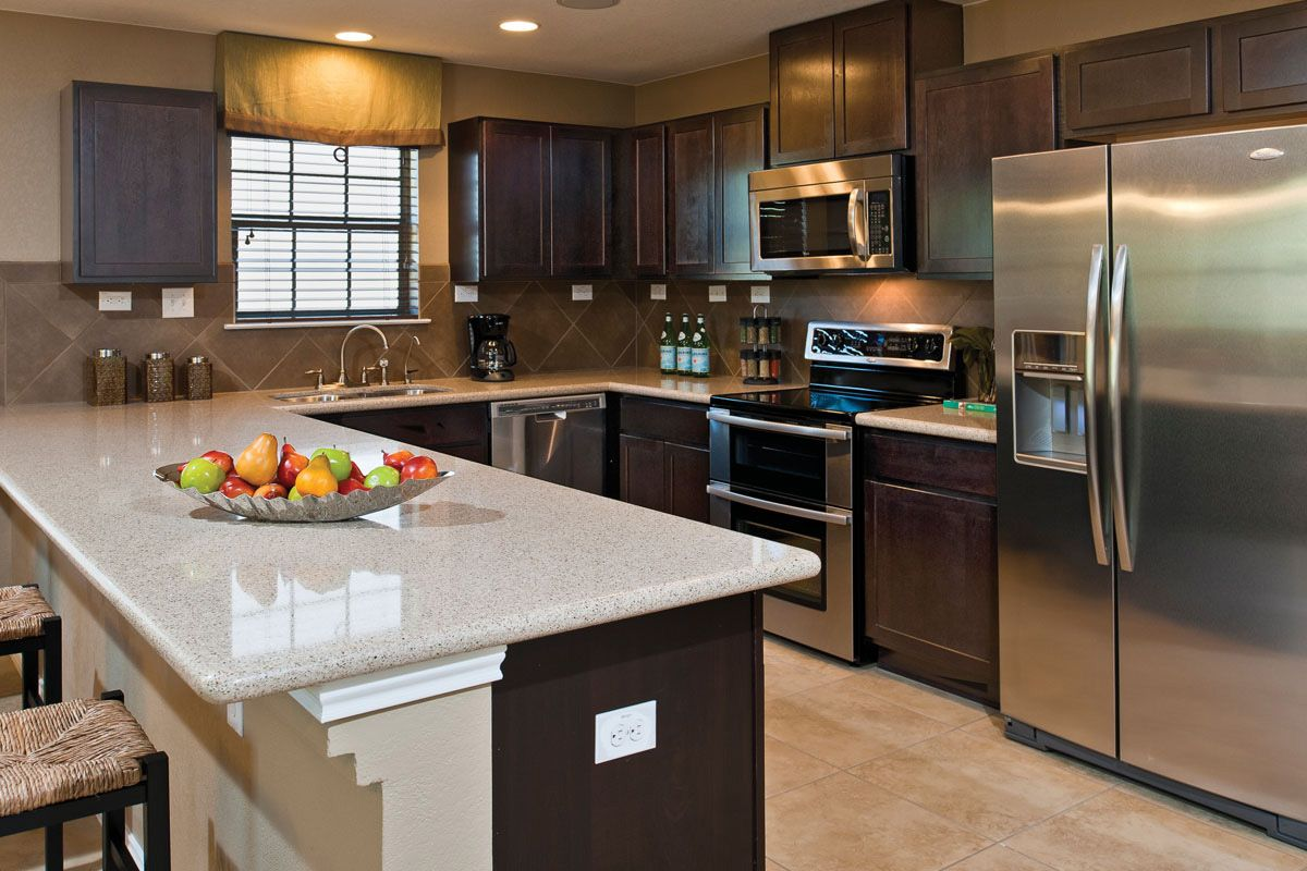 Northeast Crossing Classic Collection Contemporary Kitchen Kitchen Design Kb Homes