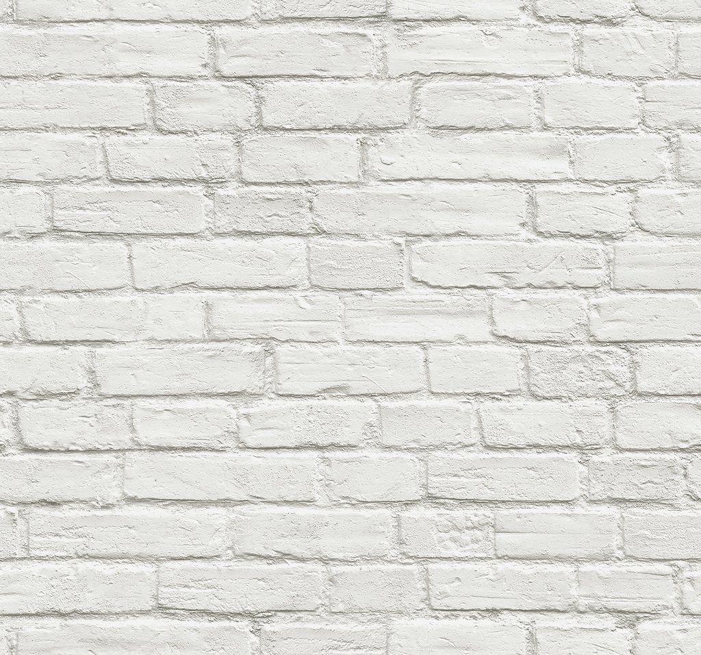 Sample Vintage White Brick Peel And Stick Wallpaper By Nextwall In 2021 White Brick Wallpaper Removable Brick Wallpaper Brick Wallpaper