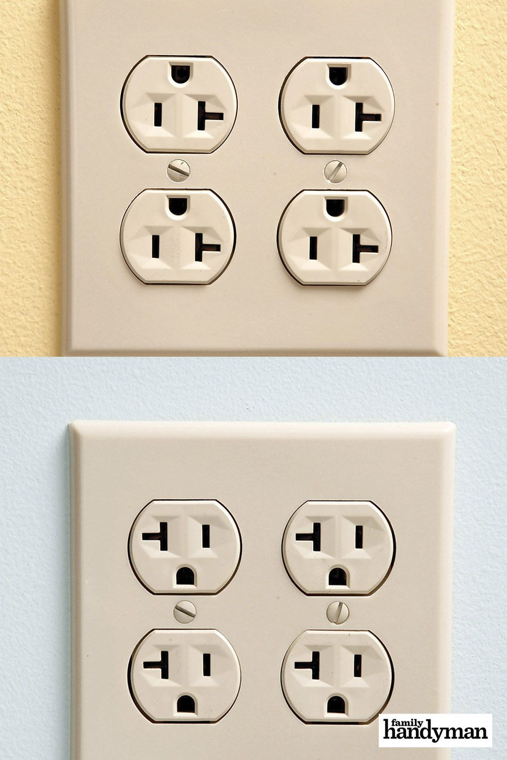 The Proper Way To Install An Electrical Outlet Electrical Outlets Diy Home Repair Diy Home Improvement