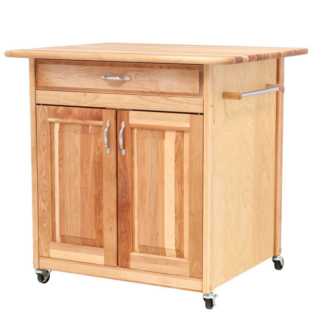 Catskill Craftsmen The Big Island 30 In Kitchen Island 63036 The Home Depot Craftsman Kitchen Towel Bar Craftsman Kitchen Cabinets