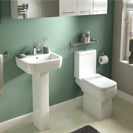 Glass Bathroom Sinks B&Q bathroomcompare | b&q cooke & lewis fabian square deep basin