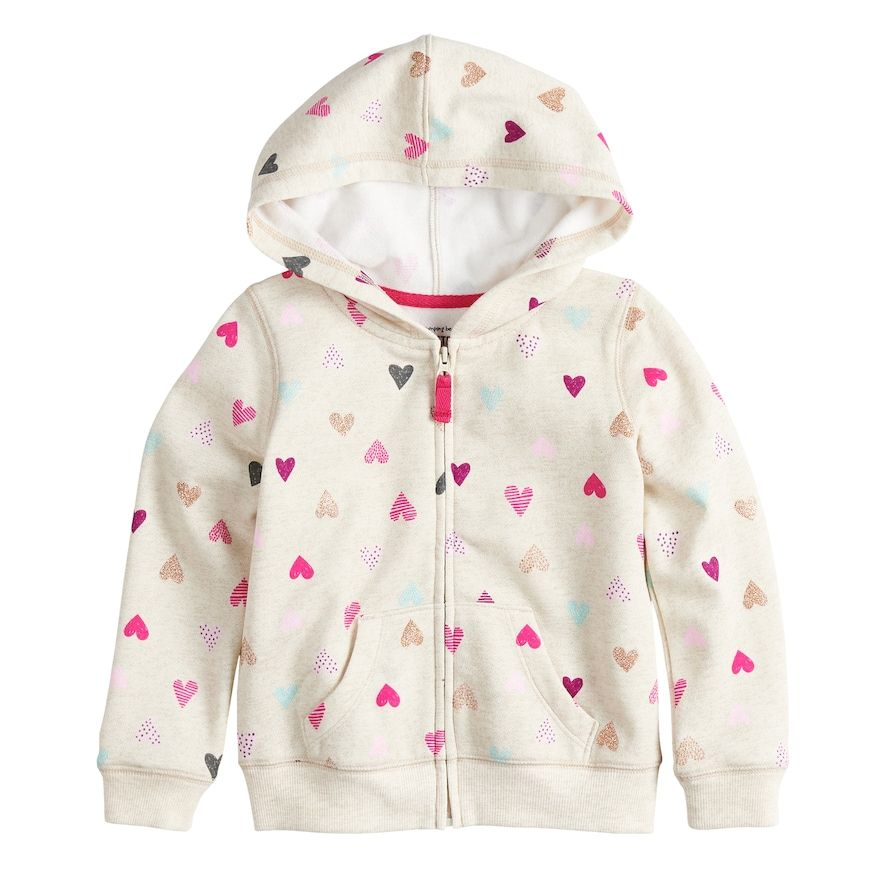 862da01c0204 Baby Essentials Baby Girl Jumping Beans Glittery Heart Softest ...