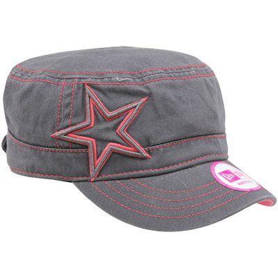 956d33a52809a New Era Dallas Cowboys Women s Chic Cadet Military Hat - Gray ...