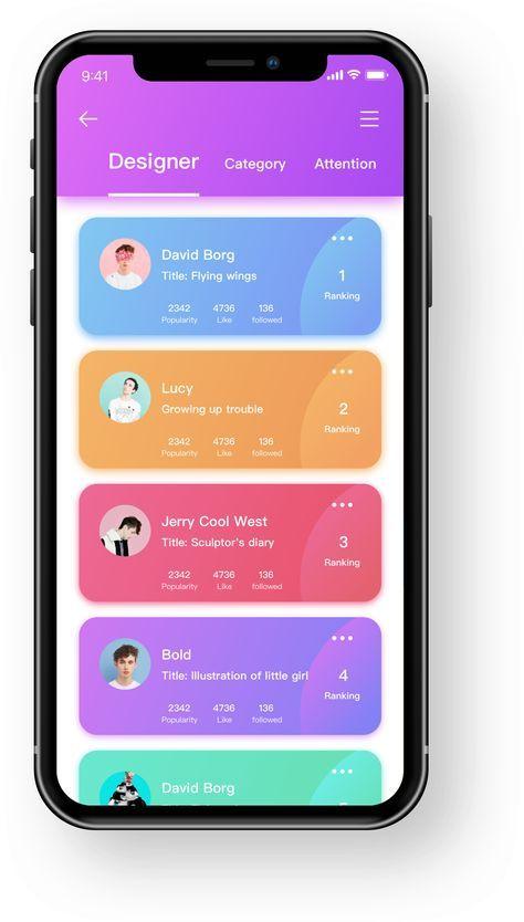 Pin em ux mobile apps