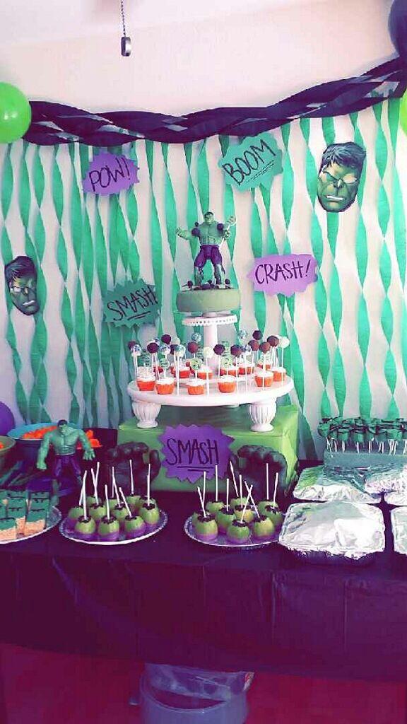 Decorations Birthday Monster Boy