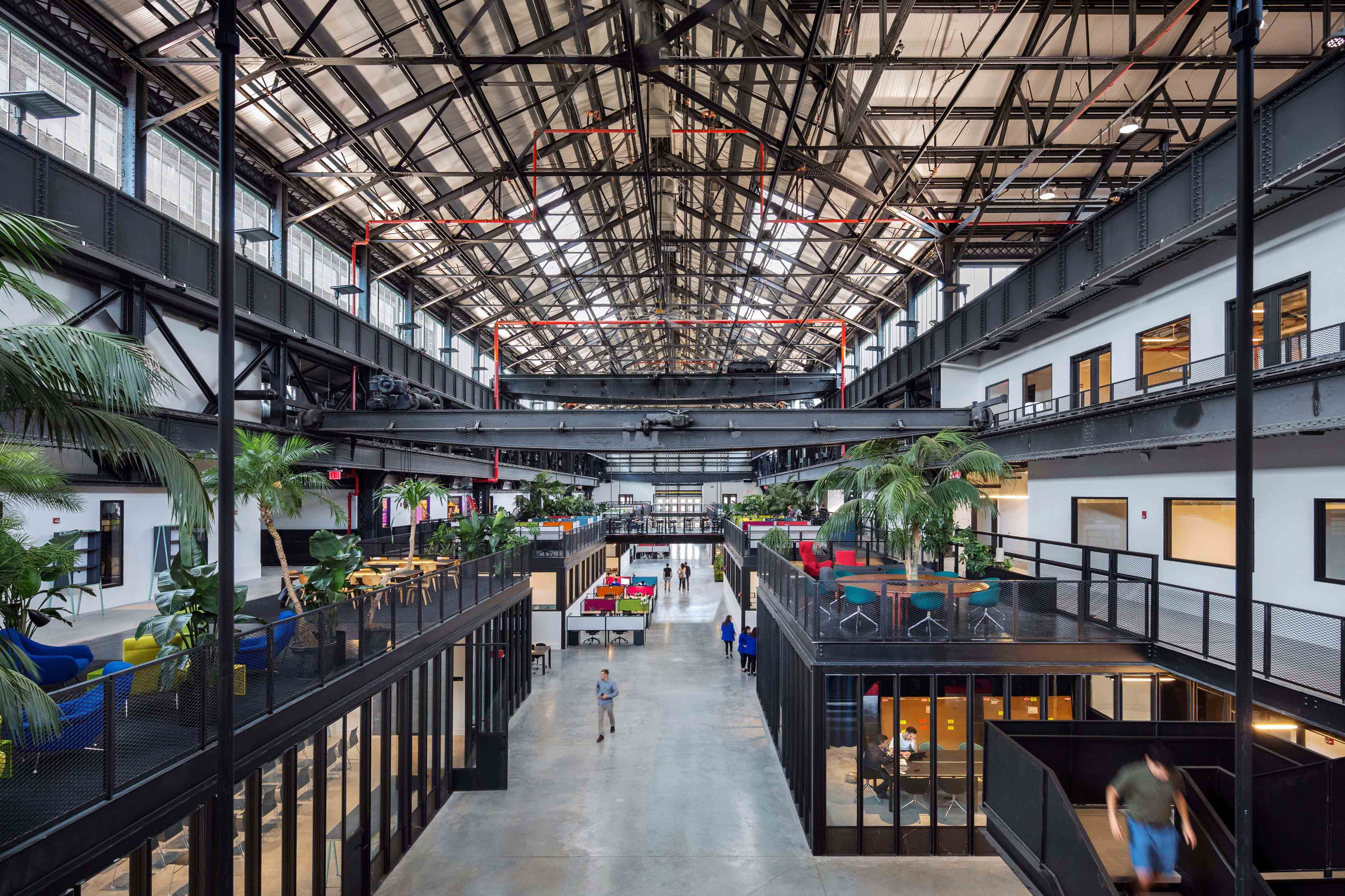 Archtober Building Of The Day 12 New Lab Brooklyn Navy Yard Warehouse Design Brooklyn Navy Yard Architect