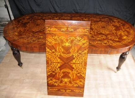 Superior Italian Marquetry Dining Table Tables Diners Furniture
