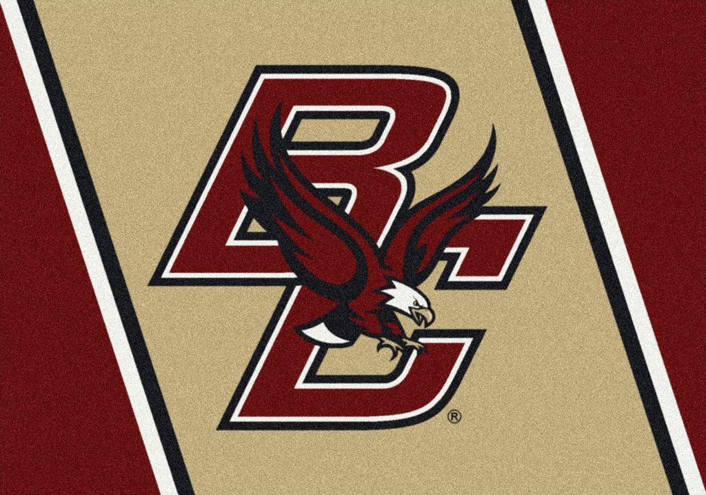 Boston College College Team Spirit Area Rug Details