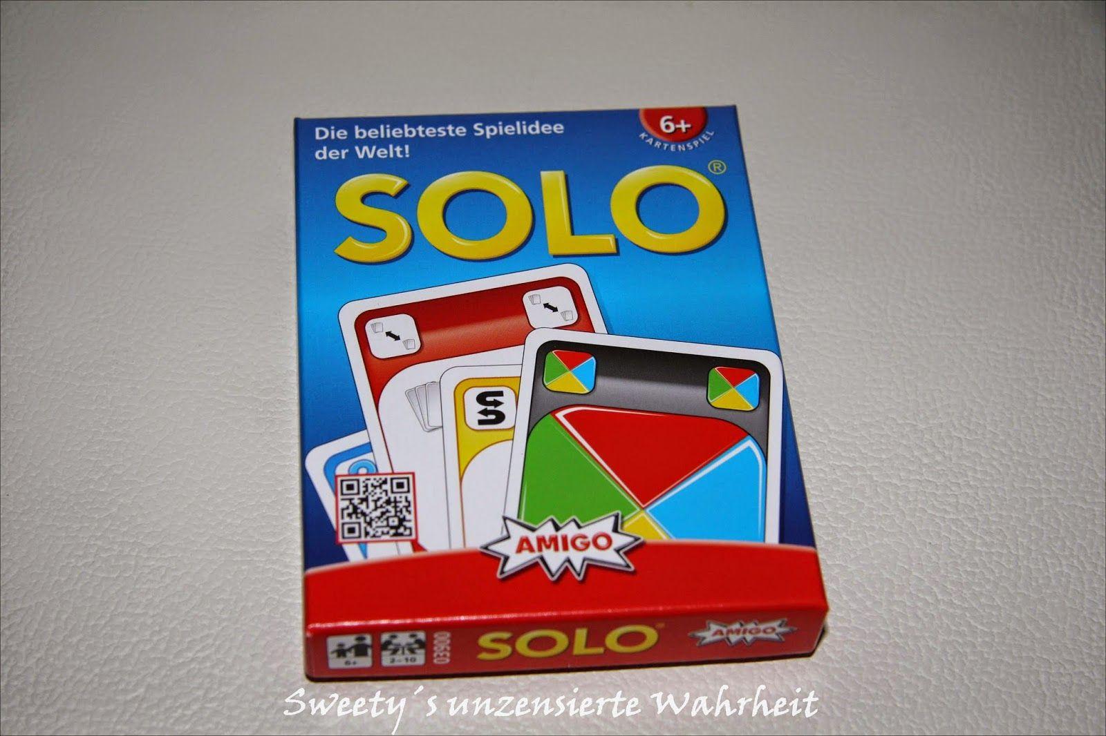 Sweety9696 testet und berichetet - die unzensierte Wahrheit...: Für euch getestet: Spielespaß #SOLO von #Amigo