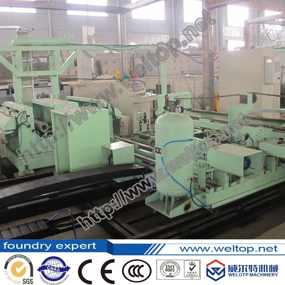 Full Automatic Centrifugal Casting Machine for cylinder