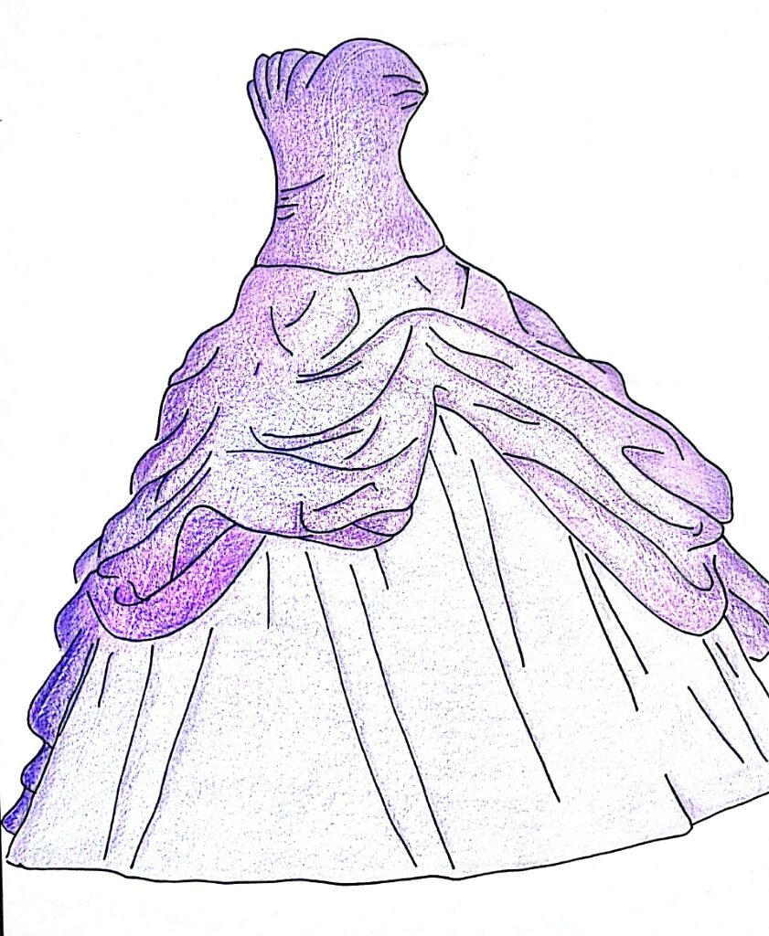 Immagini Di Abiti Da Sposa Da Colorare Disegni Vestito Abiti