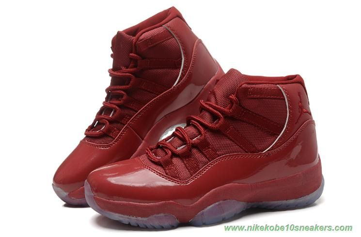 e5b1a3ed9184 136046-666 AIR JORDAN 11 Wine Red