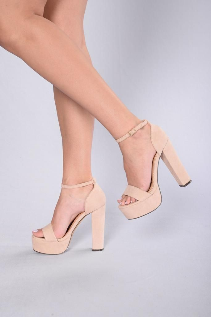 Megan Heel - Nude | High heel, Footwear and Clothes