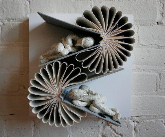 Double Consciousness Original Sculpture van Kenjio op Etsy