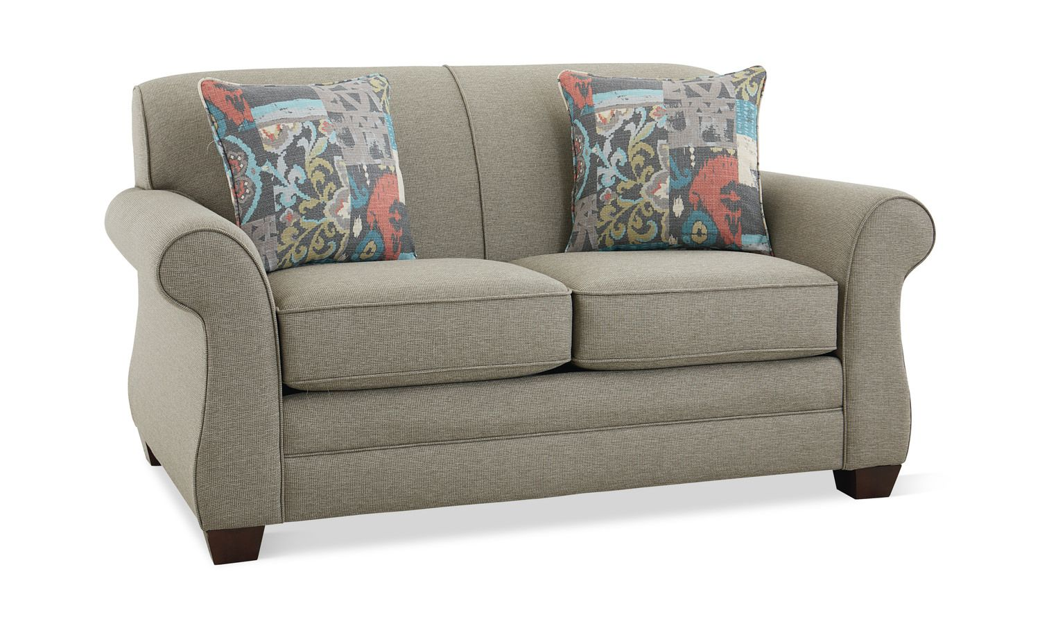 Macleod Loveseat Love Seat Hom Furniture Queen Size Sofa