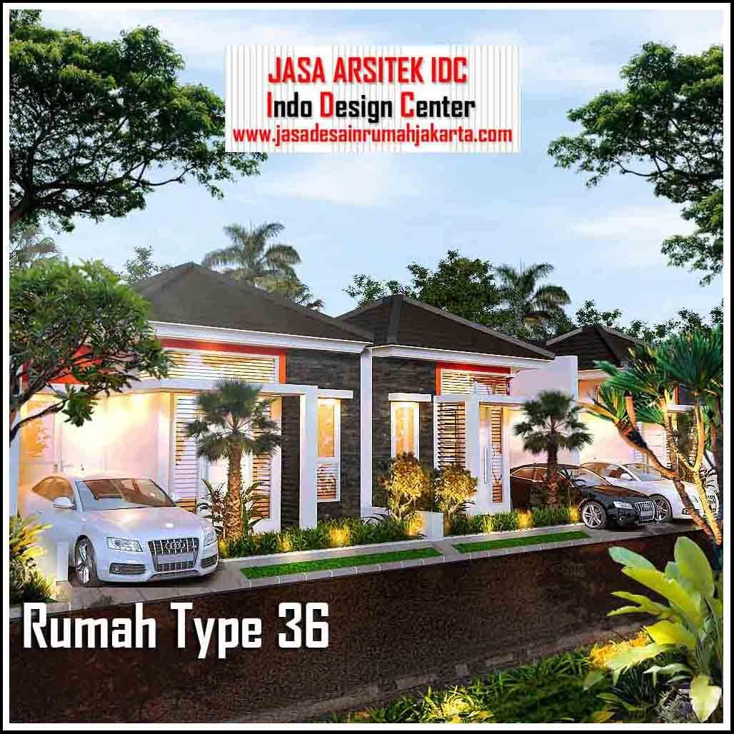 Rumah Type 36 Minimalis Modern 2018 ( Part 1 of 3) denah ...