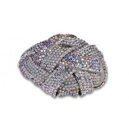 Jewelry Galore - Large Knot Bracelet in Silver - $77 #jewelry #fashion #knot #silver #women #beautiful