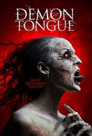 Demon Tongue Poster Cartazes De Filmes De Terror