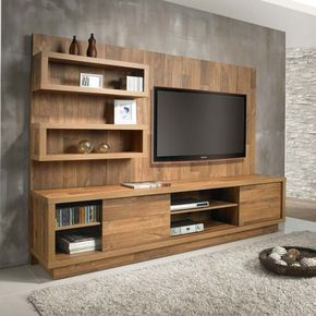 home theater western marrom melamina aimer pinterest meuble tv mobilier de salon et. Black Bedroom Furniture Sets. Home Design Ideas