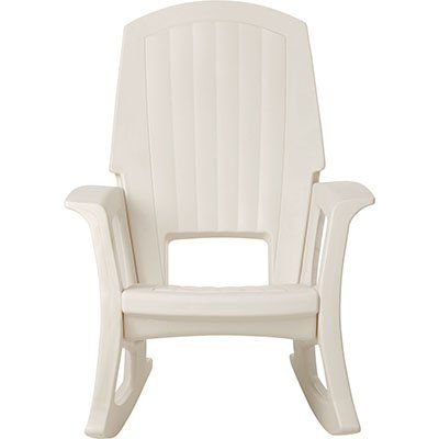 Save $ 30 Order Now Semco Plastic Rocking Chair At Discount Patio Furniture  Stor