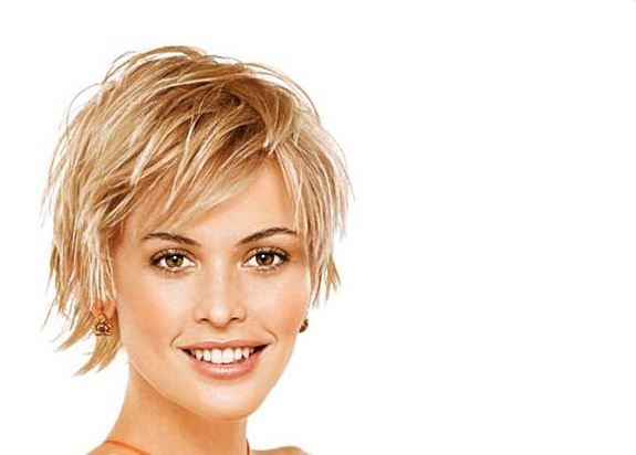 Simple Hairstyle For Thin Short Hair : Short hairstyles for oval faces thin hair thin and