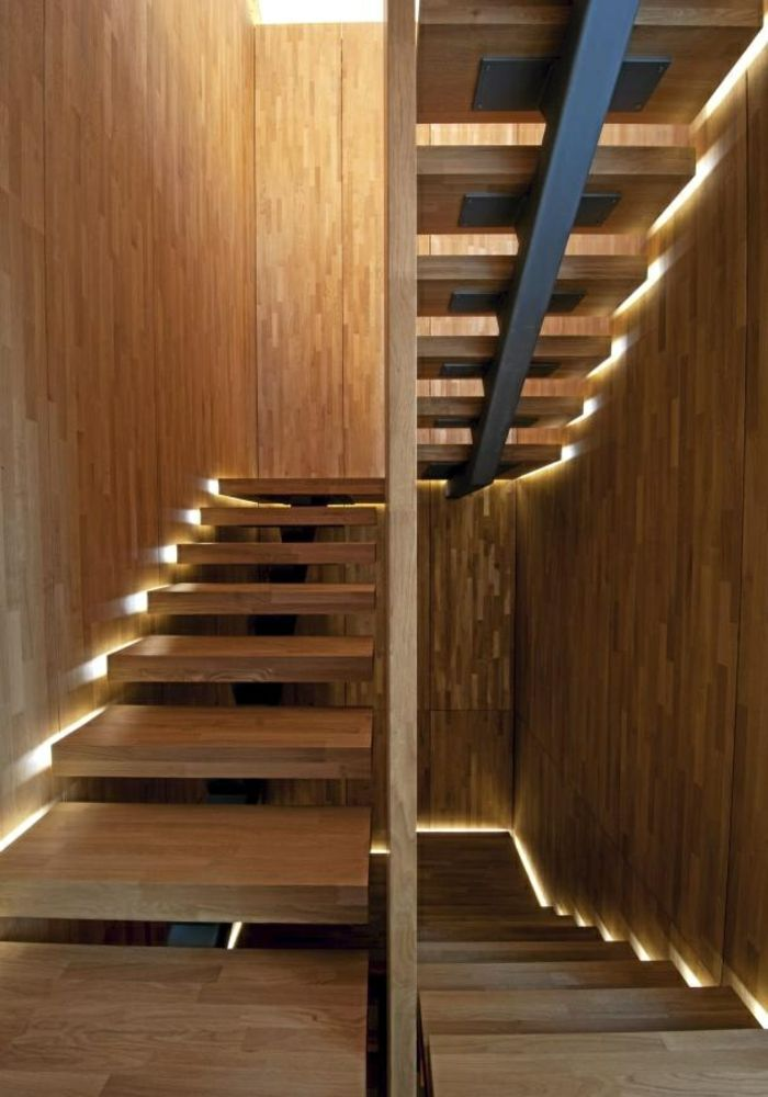 Fancy treppen beleuchtugn led beleuchtung moderne treppenkonstruktion
