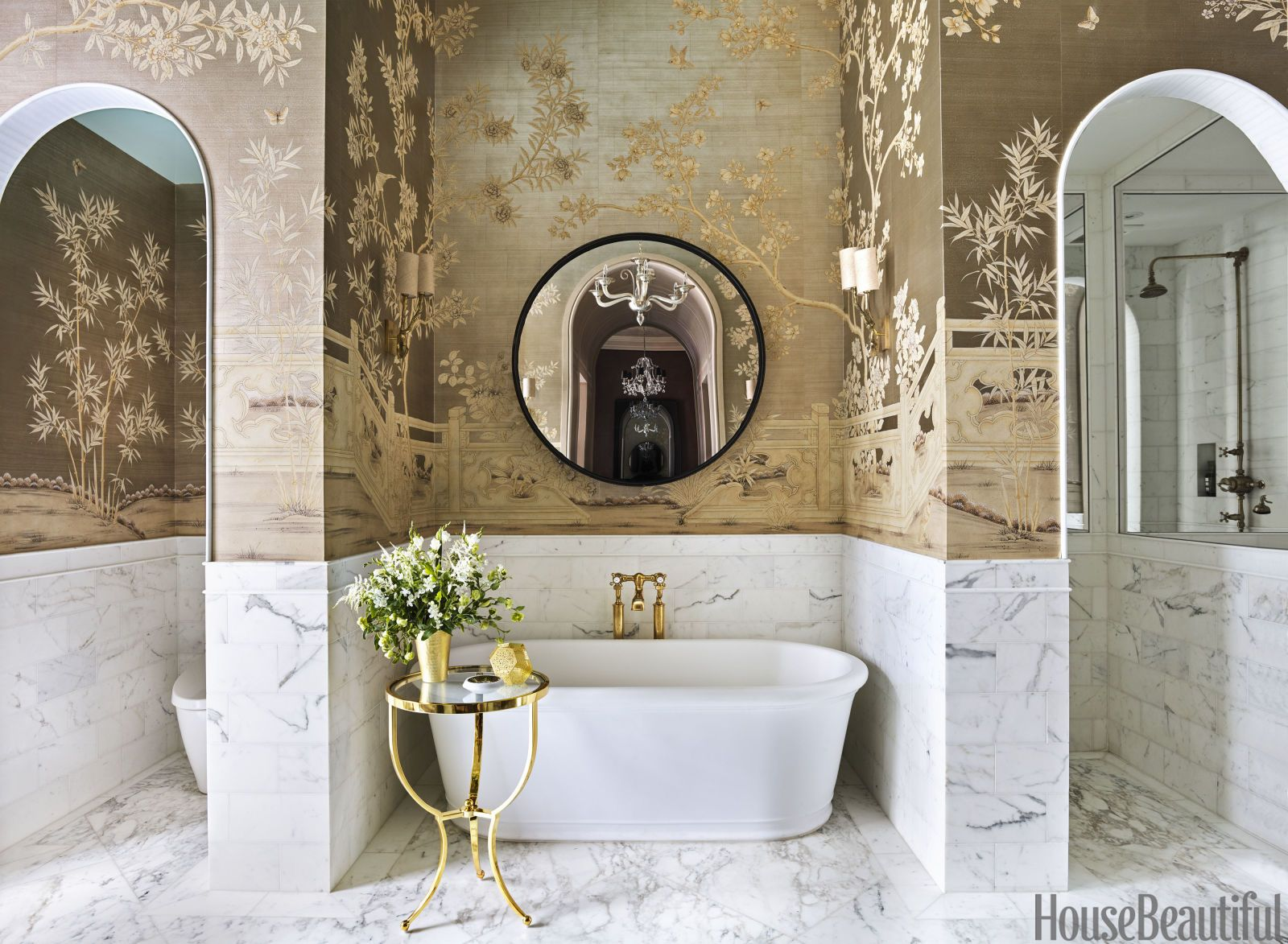 Beautiful English Bathrooms step inside this gigantic manhattan bathroom | english, manhattan