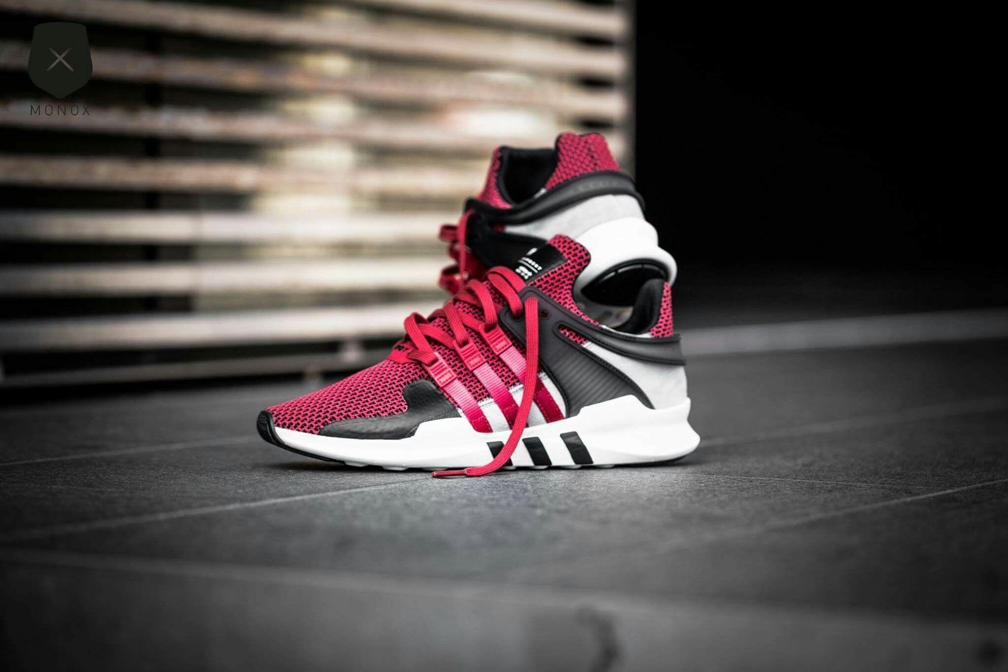 Adidas Equipment Support ADV (Collegiate (Collegiate (Collegiate Red)   adidas EQT guidance b6a7d2
